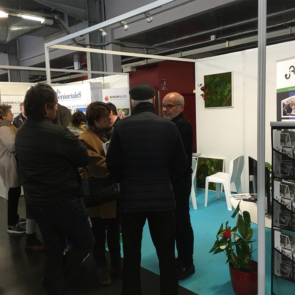 Les Jardins d'Arcadie de Bordeaux aux Salon du logement seniors